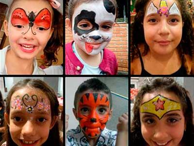 pintura facial toca do panda recreação pintura facial