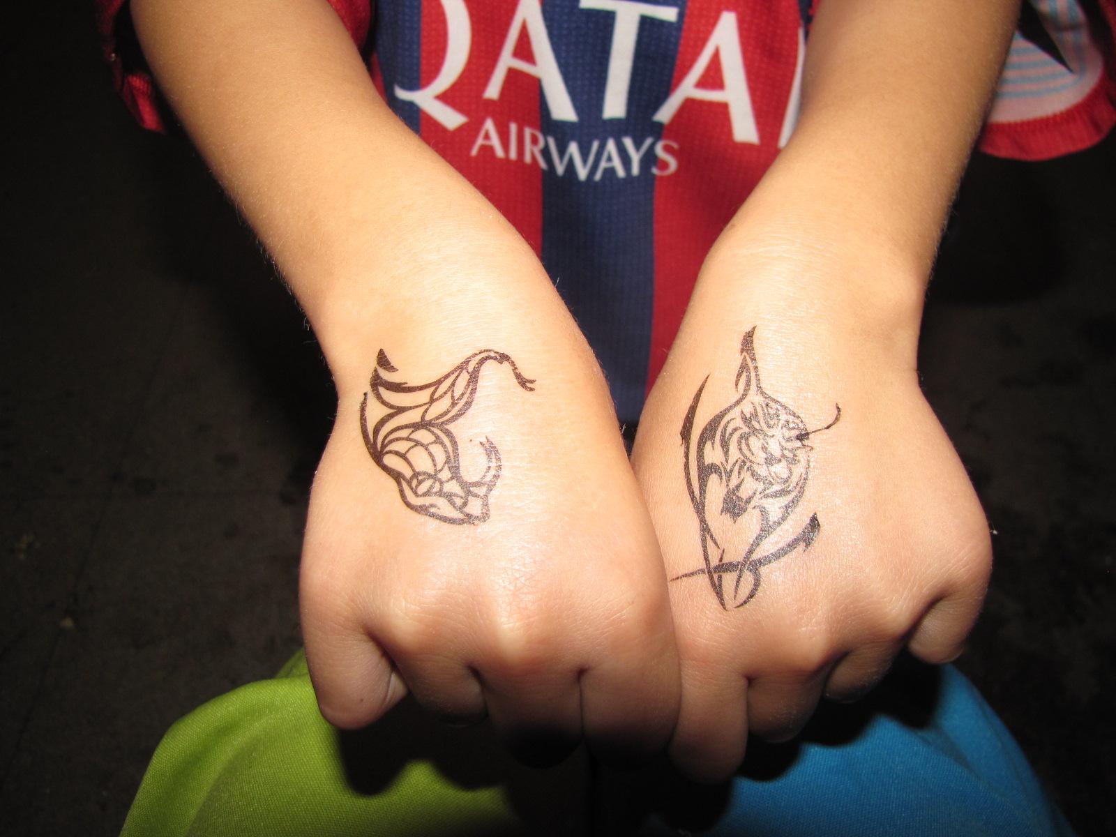 Tatuagem Adesiva